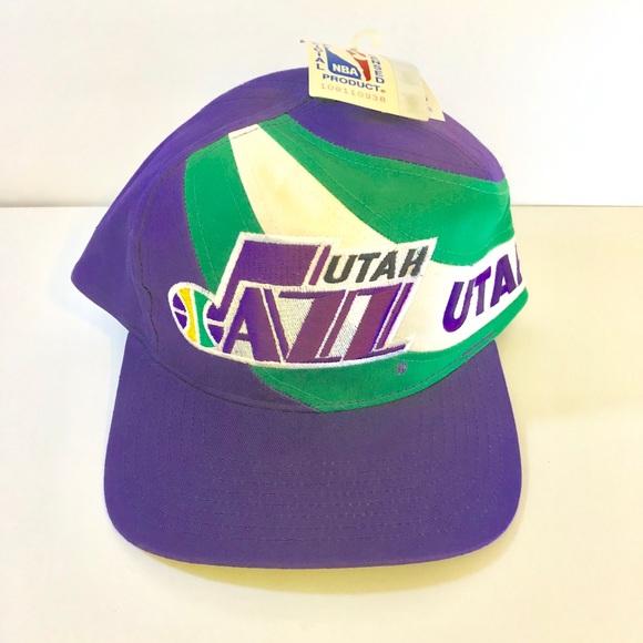 8046570b5ffcdb ... shop vintage new with tags utah jazz hat 4c01f 4edfd